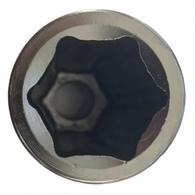 "1"" Prailginta smūginė galvutė (L=160mm) 2"