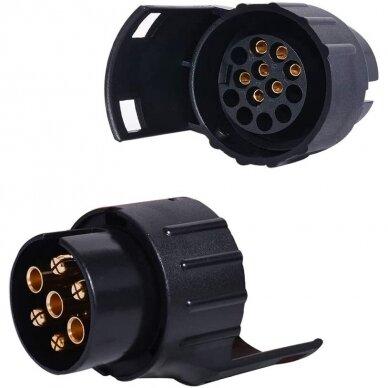 Adapteris priekabai 7-13POL, plast. 2