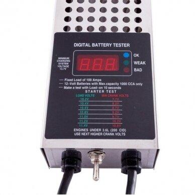 Akumuliatoriaus baterijos testeris skaitmeninis 12V 2