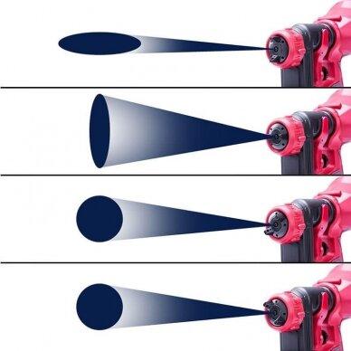 Akumuliatorinis pulverizatorius Ø1.8mm, Ø2.6mm 20V LI-ION 7