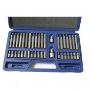 Screwdriver bit set 40pcs. TORX. HEX. SPLINE