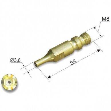 Pjovimo antgalis Nr.1 (8-15mm) dujiniam pjovikliui 150 P