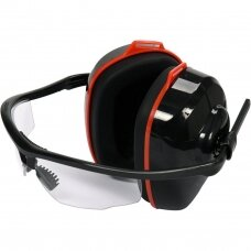 Hearing protectors SNR with safety goggles