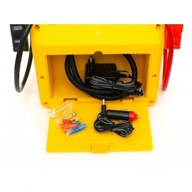 Daugiafunkcinis įkroviklis-paleidėjas su kompresoriumi ir žibintu 12V 900A 17Ah 10