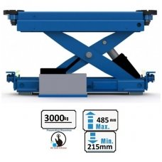 The second lifting trolley (pneumatic) 3t