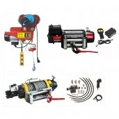 Electric and hydraulic pulling / lifting winches