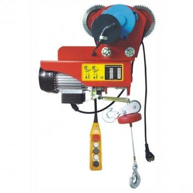 Elektrinė kėlimo gervė reguliuojama 1200kg