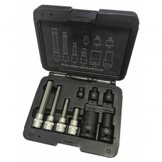Brake caliper socket and bit socket set 9pcs