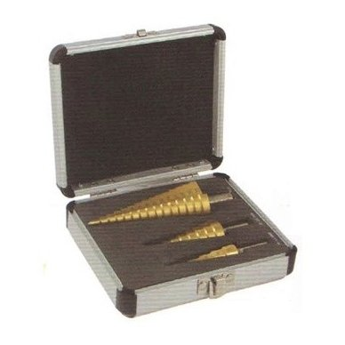 Grąžtų pakopinių rinkinys 3vnt. (4-32mm)