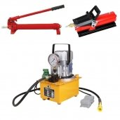 Hydraulic manual / electric pumps