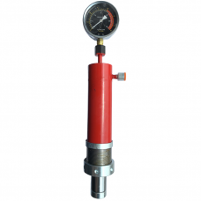 Cylinder for shop press with manometer 20t