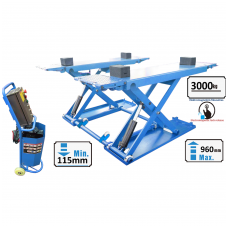 Scissor hydraulic lift with electromagnetic release, 3.0t 380V