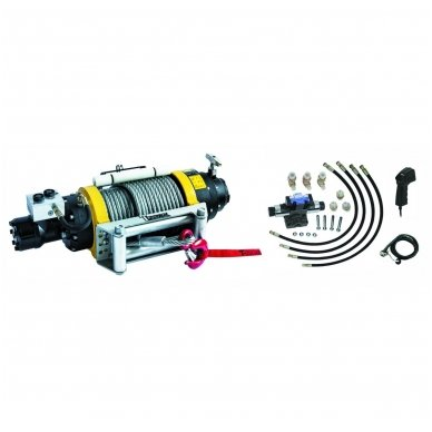 Hidraulinė gervė su nuotolinio valdymo sist. 22500Lbs/10215kg