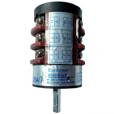 Įkroviklio-paleidėjo akumuliatoriui CF-600 ats.dalis Nr.07 jungiklis