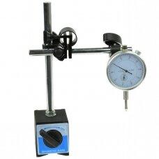 Indikatorius su magnetiniu stovu 0-10mm