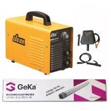 Invert. suvirinimo aparatas MMA215 + Suvirinimo elektrodas 3.2x350mm