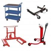 Tool / wheel / barrel carts