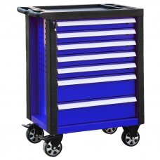 Roller cabinet. 7 drawers