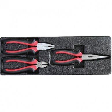Įrankių spintelė su įrankiais 174vnt (12komp) 14