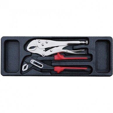 Įrankių spintelė su įrankiais 174vnt (12komp) 15