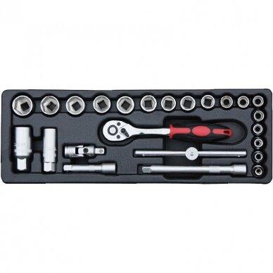 Įrankių spintelė su įrankiais 174vnt (12komp) 5
