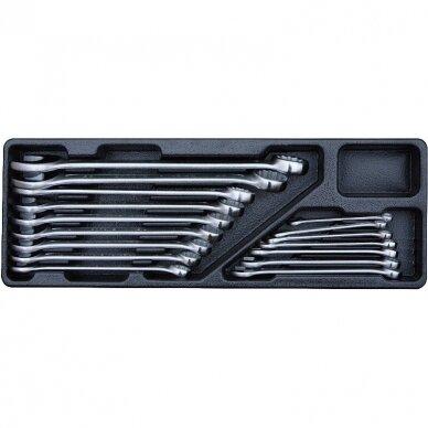 Įrankių spintelė su įrankiais 174vnt (12komp) 8