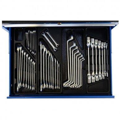 Įrankių spintelė su įrankiais, su ratukais, 269vnt. 3