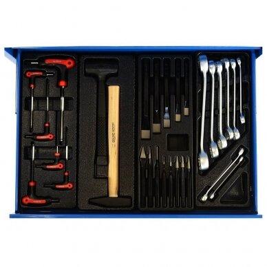 Įrankių spintelė su įrankiais, su ratukais, 269vnt. 5