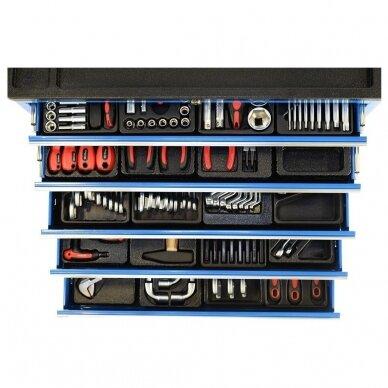 Įrankių spintelė su įrankiais, su ratukais, 269vnt. 7