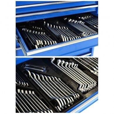 Įrankių spintelė su įrankiais, su ratukais, 269vnt. 9