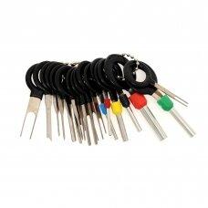 Keys for pins removal kit 18pcs