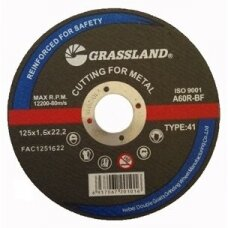 Metalo pjovimo diskas 125x1.6x22.2 41