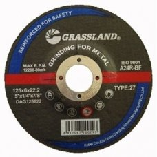Grinding wheel 125x6.0x22.2  27. Metal and steel