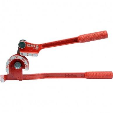 Mechaninis vamzdelių lankstytuvas mini 6-10mm