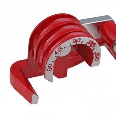 Mechaninis vamzdelių lankstytuvas mini 6-10mm 2