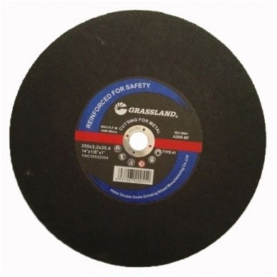 Metalo pjovimo diskas 355x3.2x25.4  41