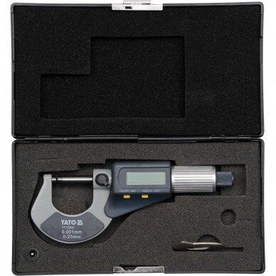 Mikrometras elektroninis 0-25mm 2