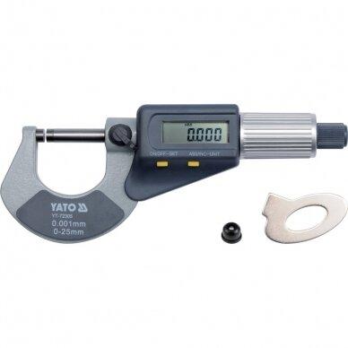 Mikrometras elektroninis 0-25mm