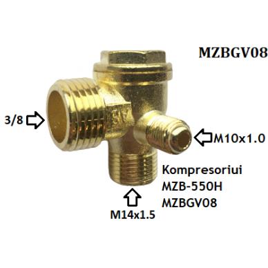 Atbulinis vožtuvas kompresoriui. Atsarginė dalis 2