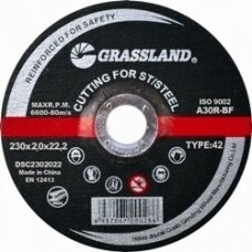 Nerūdijančio plieno pjovimo diskas 230x2.0x22.2 41