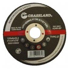 Grinding wheel 125x6.0x22.2  27. Stainless steel