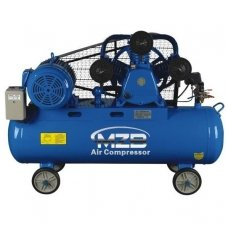Belt-driven air compressor 180L 1051L/min 8bar