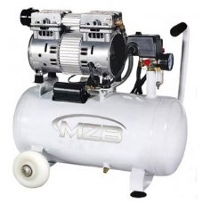 Oilless air compressor 24l 110L/min 8bar