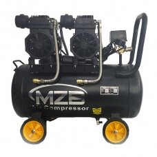 Oilless air compressor 50l 420L/min 8bar
