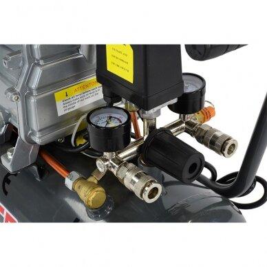 Oro kompresorius 24L 206L/min 8bar 8