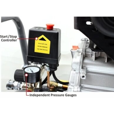 Oro kompresorius 50L 206L/min 8bar 2