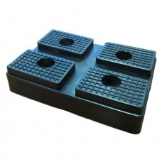 Rubber pad for hydraulic lift (rectangle). Spare part