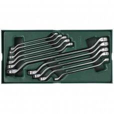 Tray. Double box end wrench set  10pcs.