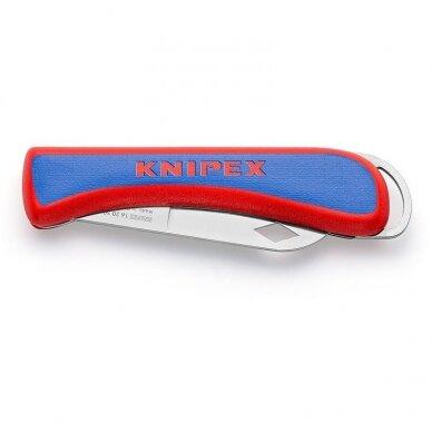 Peilis elektrikams (atlenkiamas) KNIPEX, 162050SB
