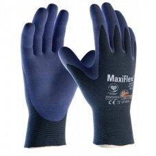 Pirštinės darbui aplietos nitrilu (XL dydis) MaxiFlex Elite